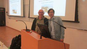 Dr. LongHui Zhang and Daniel Rittel