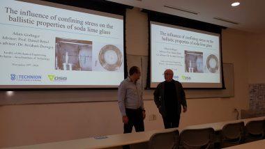 Picture 2 of Today, Adam Godinger gave his M.Sc. seminar