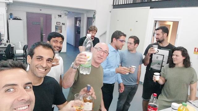 Celebrating Yonathan's Doctorate
