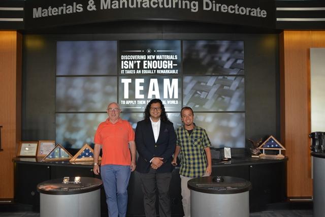 ltr: Daniel Rittel, Dr. Manny Gonzales & Rodríguez-Martínez
