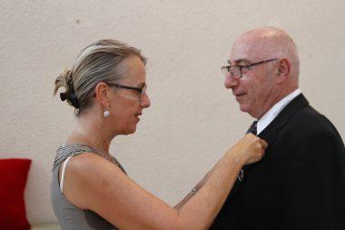 Picture 1 of A special moment!!!! Remise des Palmes Academiques