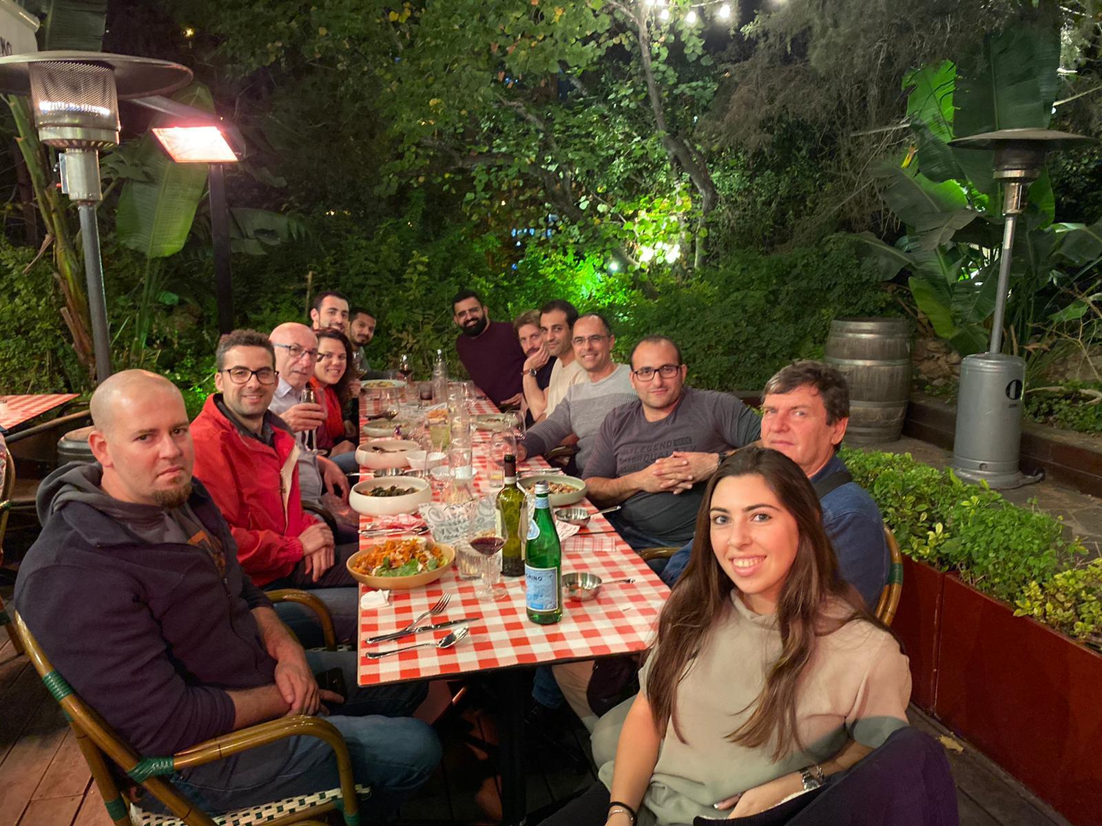 Farewell dinner with Dr. Juan Carlos